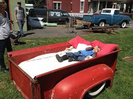 Bedroom Set Out Of 1956 Ford Truck Bed | The H.A.M.B.