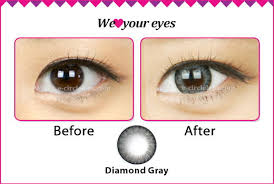 Prescription Halloween Contacts Astigmatism by Diamond Gray Toric Contact Lenses For Astigmatism Ick Circle
