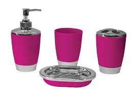 grey and pink bathroom accessories sets ward log homes