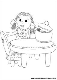 Cbeebies Colouring Pages Online