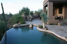 our pool tile cleaning process line