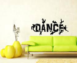 Wall Decals Dance Guys Dancing Break Dance Silhouette Decal Wall