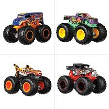 100 Moster Trucks Hot Wheels Monster 164 Vehicle Assorted BIG W
