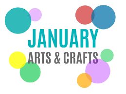 January Arts Crafts And Activities For Kids From KinderArt