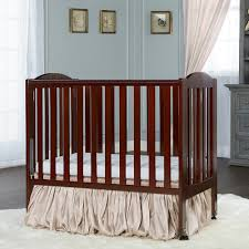 Kohls Nursery Bedding by On Me 2 In 1 Wood Folding Portable Crib
