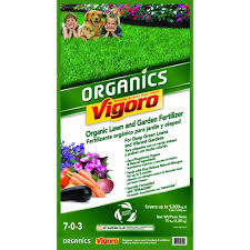 Natural Fertilizer For Pumpkins by Vigoro 15 Lb Organic Lawn And Garden Food 99399pf The Home Depot
