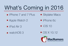 Apple Help Desk India by What U0027s Coming From Apple In 2016 Apple Watch 2 Iphone 6c Iphone