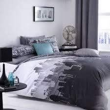 New York City Skyline Bedding NYC Themed Bedroom Ideas