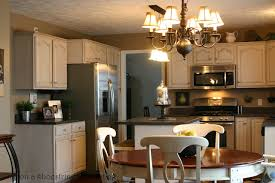 Pickled Oak Cabinets Glazed by Remodelaholic Glazed Kitchen Cabinet Update