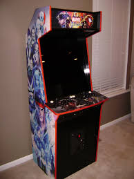 X Arcade Mame Cabinet Plans by Pete U0027s Slim Arcade Project Completed