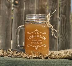 Rustic Mason Jar Barn Wedding Decor Toasting Glasses
