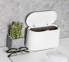 tischmülleimer mit deckel mini abfalleimer tisch mülleimer bad kosmetikeimer tischabfalleimer für küche badezimmer büro schreibtisch wc auto bett