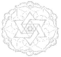 Ascii Symbols Christmas Tree by Members Of The U003c3 O Religion Has Created The Largest Ascii