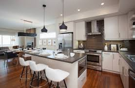 mini pendant lights living room contemporary with breakfast bar