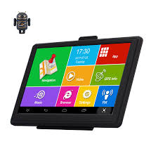 100 Truck Gps App 7 Android GPS Car Navigation IPS Capacitive Bluetooth Wifi 8G512MB FHD