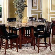 Countertop Dining Room Sets 5 Piece Kitchen Set Square Marble Top Counter Height Table And 4 Chairs South Africa