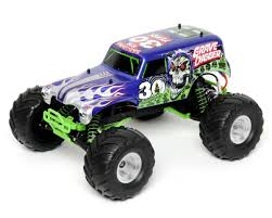100 Monster Jam Toy Truck Videos Traxxas 30th Anniversary Grave Digger 110 Scale 2WD