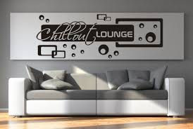 wall decals stickers wandtattoo aufkleber chillout lounge