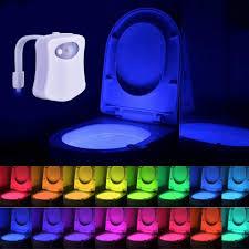 toilette wc nachtlicht led le wc beleuchtung