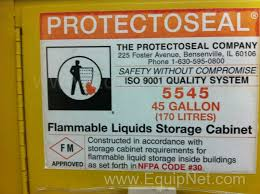 Flammable Liquid Storage Cabinet Requirements by Protectoseal 5545 45 Gallon Flammable Storage Cabinet Listing 375138