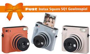 gewinnspiel fujifilm instax square sq1 fust shop