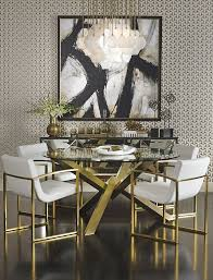 Dining Room   On To The Dining Room   Room Interior Design, Black ... Vig Fniture Modrest Kingsley Modern Black Rose Gold Ding Chair Of America Duarte Iii Crocodile Textured Zuo Elio Set 2 Antique Sets Glass Tops Bases Chairs Frame Pedestal Vintage European And Round Table Beautiful Leopard Print 6 Room Wooden Best Of 25 With Legs Ideas Design 100 Transformed Reality Daydream Meridian Karina The Classy Home Inspirational 50 And Dcor Inspiration For New Years Eve Nage Designs Patings On Blue Wall Gold Clock In Modern Ding Room