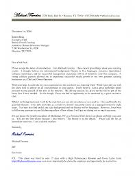 Chef Cover Letter Examples Luxury For Culinary Job Sample