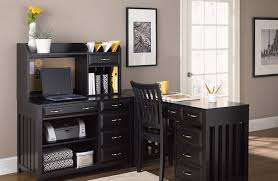 Mainstays L Shaped Desk With Hutch by Mainstays L Shaped Desk With Hutch Oak All About House Design