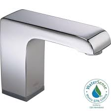 Delta Touchless Kitchen Faucet Problems by Delta Commercial Battery Powered Single Hole Touchless Bathroom