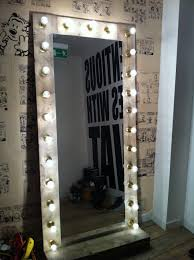 Broadway Lighted Vanity Makeup Desk Uk by Vanity Mirror With Lights Makeup Mirror Wall Hanging Or Stand