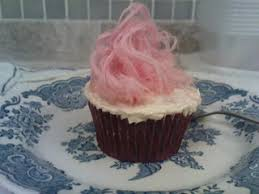 The Pictures Of Cupcakes Are Those Decorated With Rose Pashmak Persian Fairy Floss It May Be But Originated From An Iranian Shop Selling