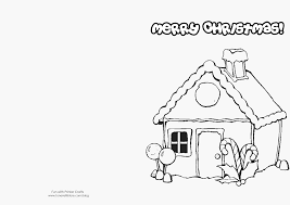 Print Nice Ideas Christmas Cards To Color How Make Printable For Kids Fun With