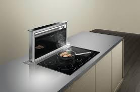 hotte cuisine darty hotte ilot central darty best lot jaune et blanc par darty with