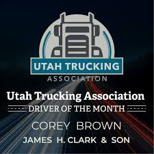 Congratulations To Corey Brown For Being... - Utah Trucking ... Thatcher Transportation Team Group Inc Roadpro Truck Carriers And Organizations Thank Truckers Utah Trucking Association Photos Facebook 300 West 800 South To 2100 Eeering Reddaway Earns Top Honor In Godfrey Awards W Clyde Like An Elephant With A Bunch Of Flamingos Toquerville Man For The Love Quality Tire Company On Twitter Join Us At How Driver Might Not Know They Are Hauling People Cargo Bigd Cstruction