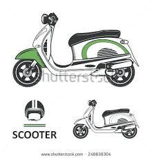 Retro Scooter Helmet Viper Rs Open Face Target Matt