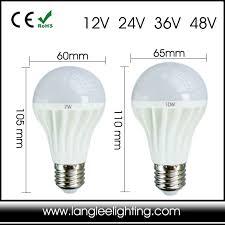 e27 24v led l bulb 24v 36v 10 30v globular l for marine rv