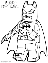 Lego Batman Coloring Pages To Download And Print