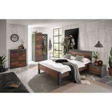 lomadox jugendzimmer set berlin s 61 sparset 4 tlg schlafzimmer komplett set liegefläche 140x200 cm industrial design in matera
