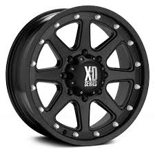 100 Xd Truck Wheels 18 XD Series XD798 Addict Matte Black 18x9 Wheel SET RIMS 18INCH