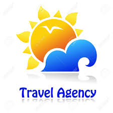 Travel Icon For Tourist Industry Hotel Agency Outdoor Company Stock Vector