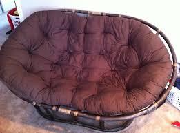 furniture cheap papasan double chair purple best double papasan