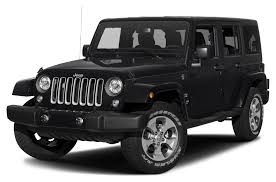 2017 Jeep Wrangler Unlimited Sahara 4dr 4x4 Pricing And Options