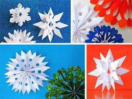 Snowman And The Snowdog Craft Tutorials Channel 4 Animated Film Paper Snowflakes Tutorial