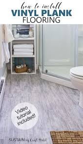 how to install vinyl plank flooring tutorial sustain my