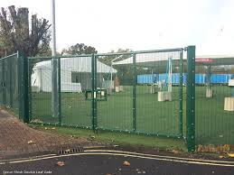 The Drawing Of Anti Climb Fence Installation Including 358 Security Mesh Security Mesh