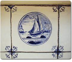delft tiles painted glazed ceramic tiles