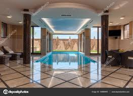 100 Interior Swimming Pool Indoor Marble Swimming Pool Stock Editorial Photo