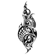 Abstract Tribal Art Tattoo