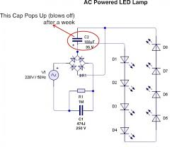 ac powered led l understanding electronics led