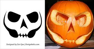 Scariest Pumpkin Carving Patterns by 15 Free Printable Scary Halloween Pumpkin Carving Stencils